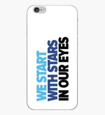 We start with stars in our eyes iPhone Case