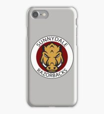Sunnydale Razorbacks (Buffy) iPhone Case/Skin