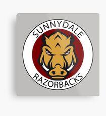 Sunnydale Razorbacks (Buffy) Metal Print
