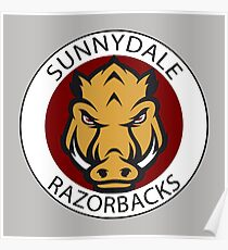 Sunnydale Razorbacks (Buffy) Poster