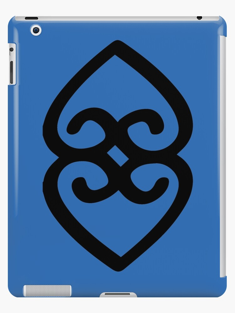 Adinkra Symbol Of Providence And The Divinity Of Mother Earth Ipad