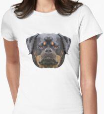 Rottweiler Womens Fitted T-Shirt