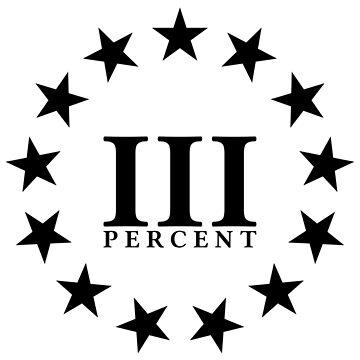 III PERCENT WHITE by patriotsapparel