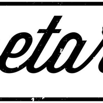 Vegetarian Hipster Logo by GlutenFreeGear
