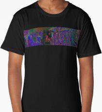 Psychedelic Panoramic Skeleton Long T-Shirt