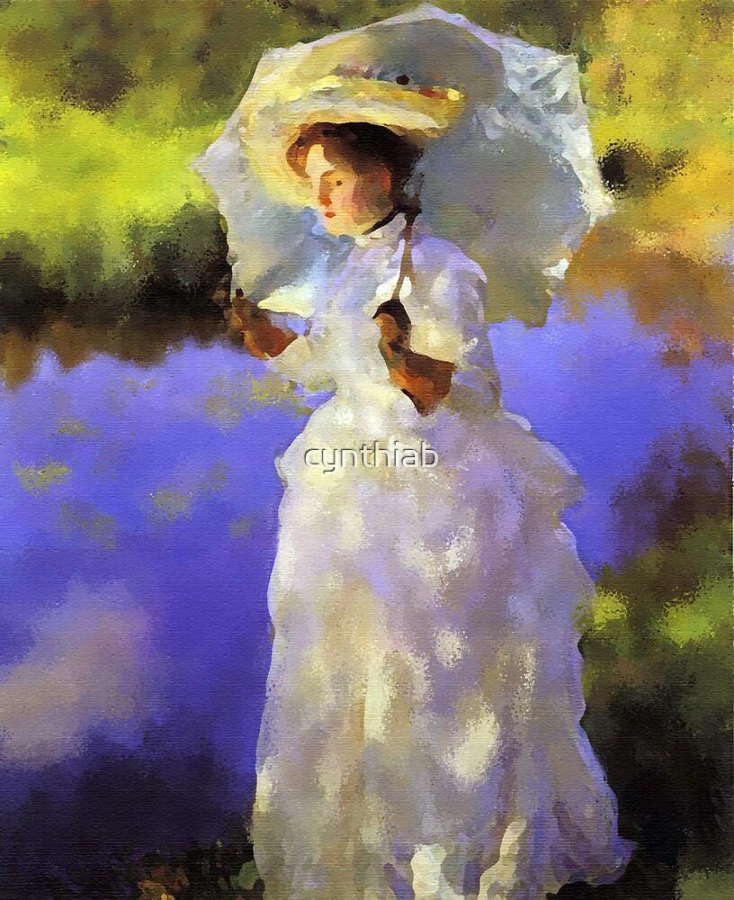 lady by the lake by cynthiab