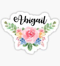 Abigail Sticker