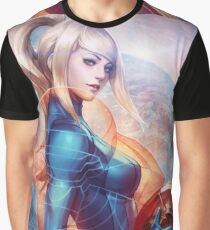 Samus Aran Graphic T-Shirt