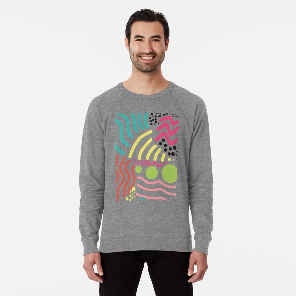 Bunter Aboriginaldruck! Leichter Pullover