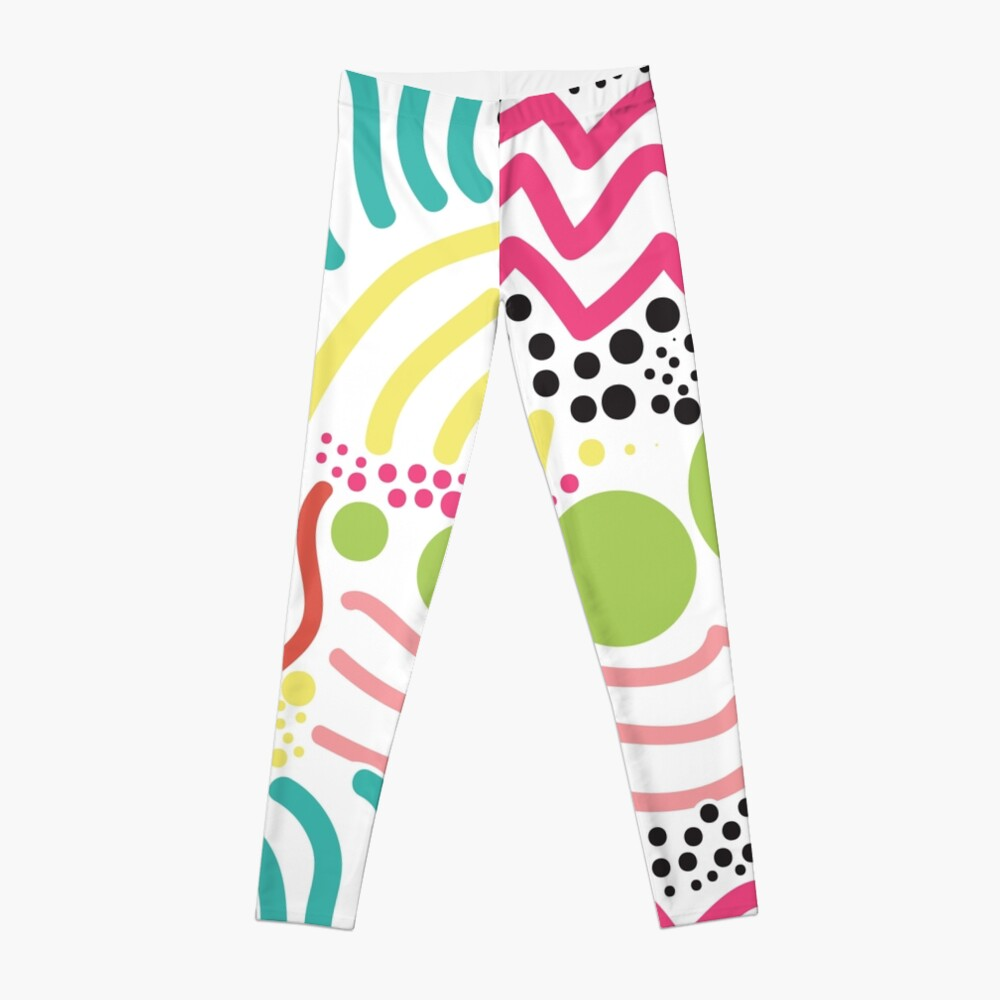 Bunter Aboriginaldruck! Leggings