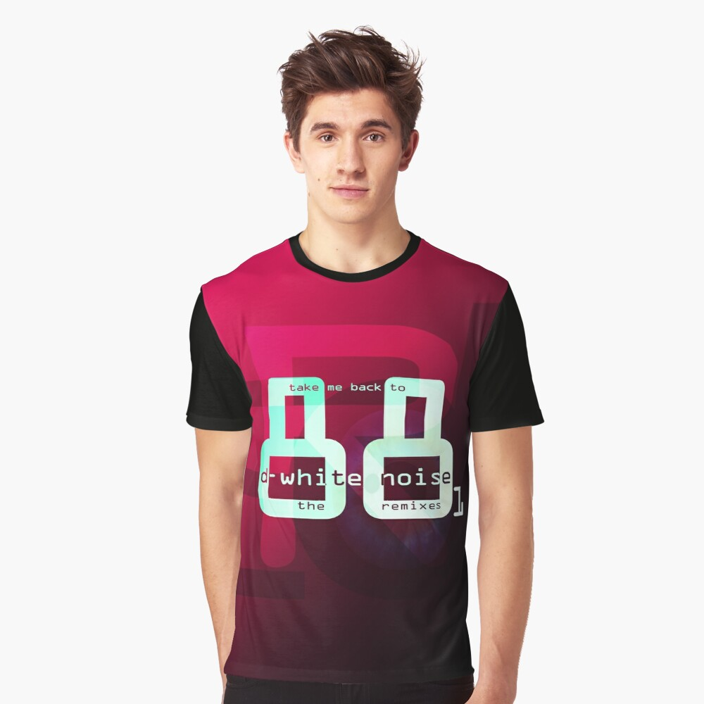 D-White Noise - Take Me Back to 88 Remixes part 1- Merch Graphic T-Shirt