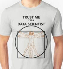 Trust Me I'm a Data Scientist (Vitruvian Man) T-Shirt