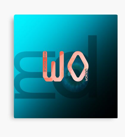 D-White Noise - 'Woken' ep - Merch Canvas Print