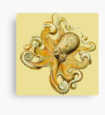 Underwater Sea Monster Octopus and Tentacles Canvas Print