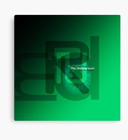 Teddy Sex Drum 'The Underground (The D-White Noise Remixes)' Canvas Print
