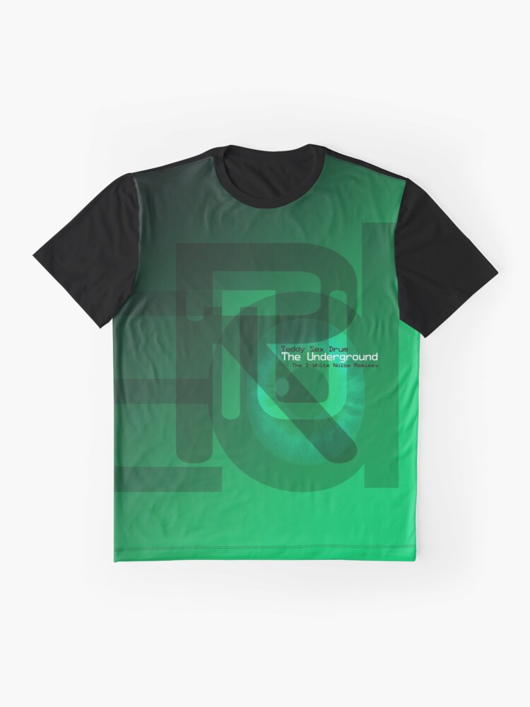 Alternate view of Teddy Sex Drum 'The Underground (The D-White Noise Remixes)' Graphic T-Shirt