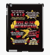 Die Hard Best Quotes iPad Case/Skin