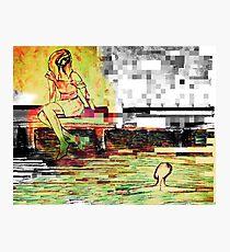 pixelation  Photographic Print