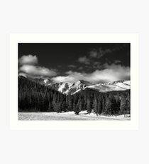 A Winter Scenic Art Print