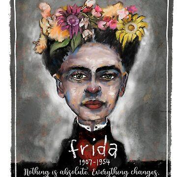 Frida Kahlo by digitaldog