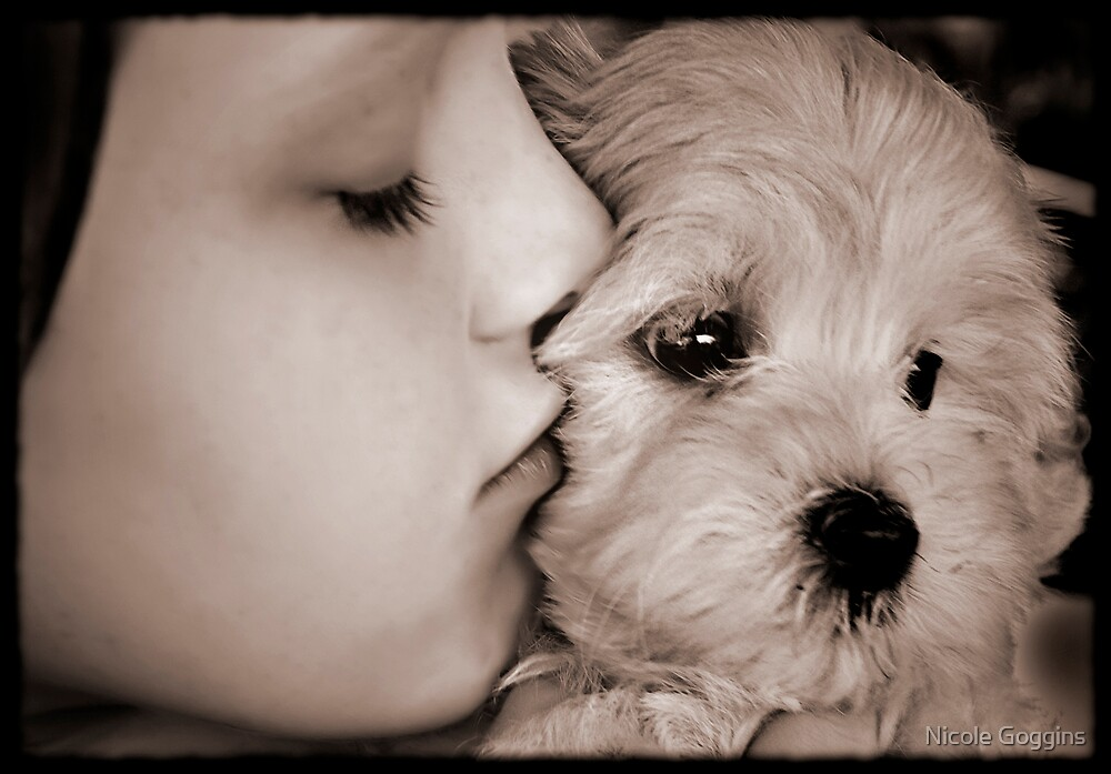 Puppy love... by Nicole Goggins
