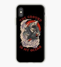 The Ground Is My Ocean iPhone Case