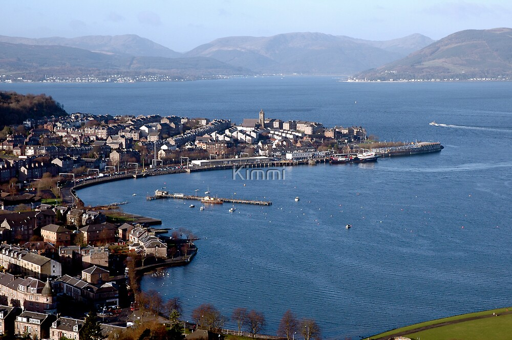 Gourock Bay by Kimmi