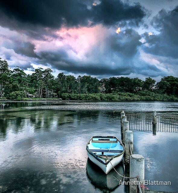Blue Boat by Annette Blattman