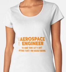 AEROSPACE ENGINEER Women's Premium T-Shirt