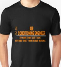 AIR CONDITIONING ENGINEER Unisex T-Shirt
