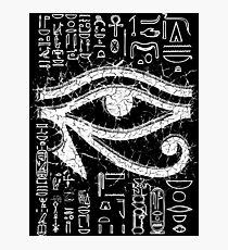Eye of Horus  Photographic Print