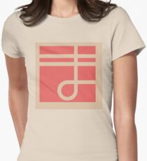 Hidamari Apartments - Ma Womens Fitted T-Shirt