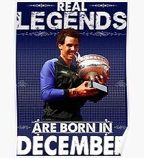 Rafa Nadal  Diciembre Poster