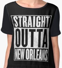 Straight outta New Orleans - The Originals Women's Chiffon Top