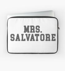 Mrs. Salvatore - The Vampire Diaries - The Originals Laptop Sleeve