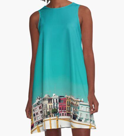 Triana, die Schöne A-Linien Kleid