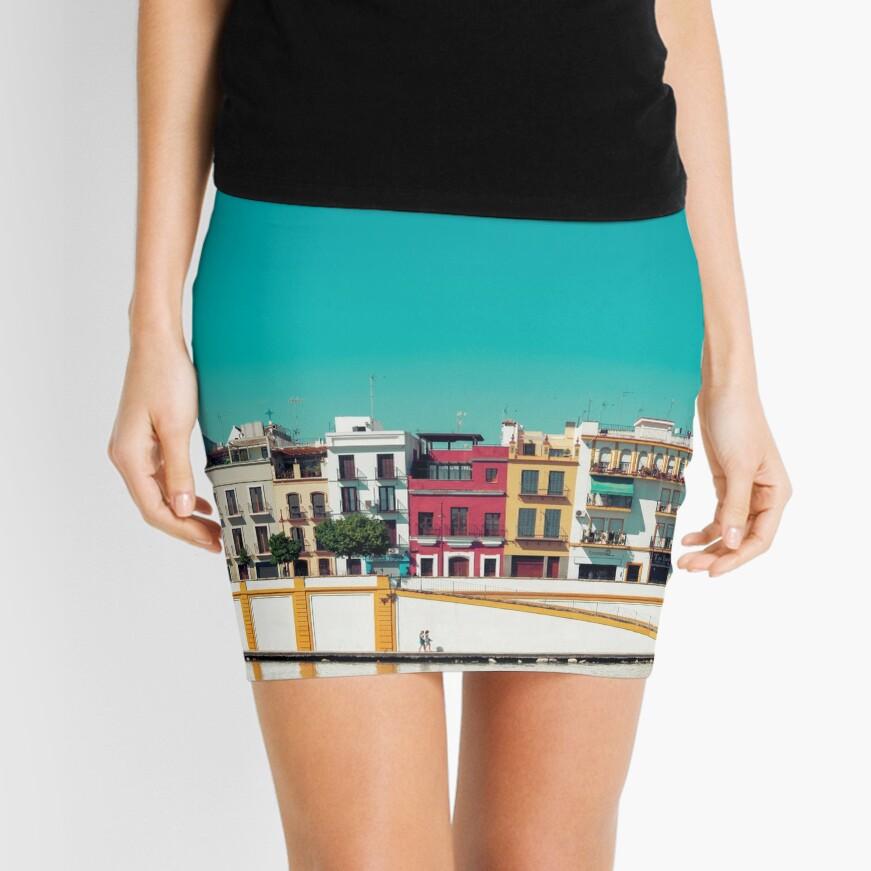 Triana, la bella Minifalda