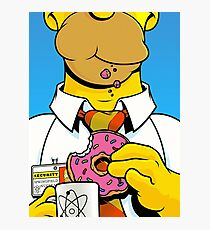 Homer Simpson Photographic Print