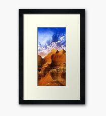 Badlands National Park .2 Framed Print