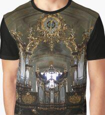 Organ In Mariahilfer Kirche, Vienna Austria Graphic T-Shirt