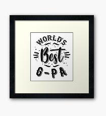 Best G-Pa Framed Print