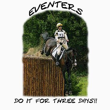 Eventers do it for 3 days by timbrewolf
