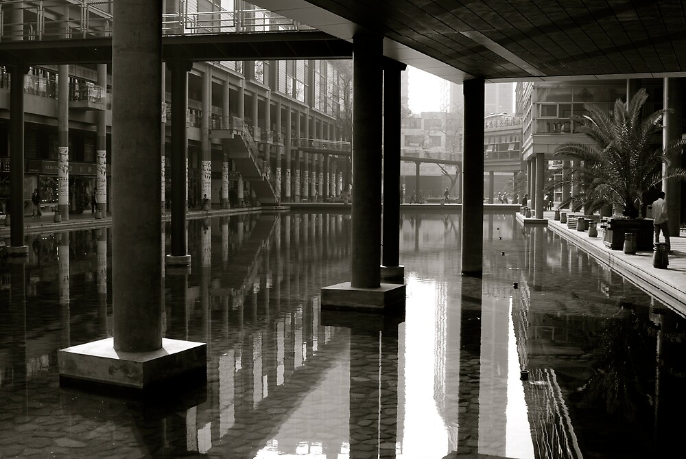 Shopping District by Robert Baker