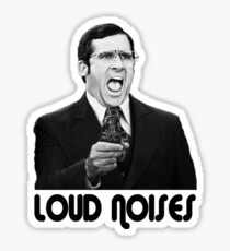 LOUD NOISES! Sticker