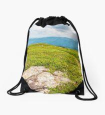 stones and boulders in Carpathian mountain range Drawstring Bag