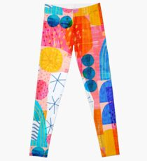 Felt Pen Happiness  Leggings