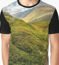 narrow path down the mountain Graphic T-Shirt