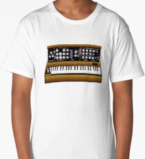 Mini Moog Synth T-Shirt Long T-Shirt