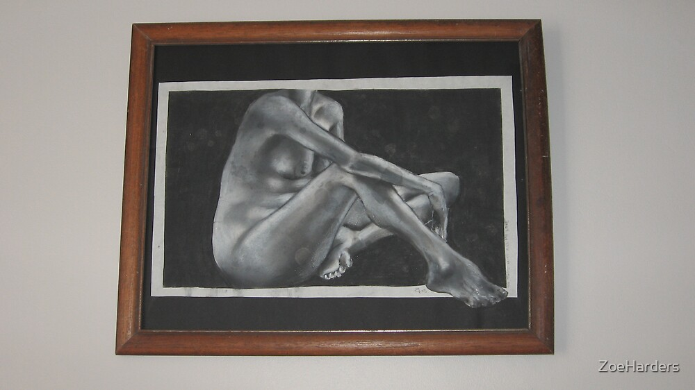 40 x 25 cm Charcoal by ZoeHarders