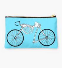 Blue Skeleton Bike Studio Pouch